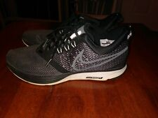 Nike Zoom Strike Running Shoes Women's size 7.5  Black & Dark Gray