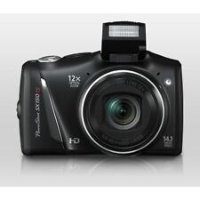 Canon PowerShot SX150 IS 14.1MP Digital Camera - Black / RRP £199