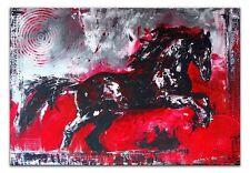 Abstrakte künstlerische Malereien auf Leinwand