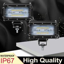 2X 72W 5.5inch LED Spotlight Light Bar Car Driving Bumper Light for JEEP SUV ATV