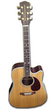 New Boorinwood SDC130SE Semi Acoustic Guitar Natural @@ Reduction sale RRP £314
