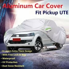Waterproof Cotton Line Car Full Cover Outdoor For Mitsubishi Triton Dual Cab UTE
