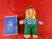 kleiner Mecki Mäcki Kultfigur aus DDR-Zeiten Sammlerfigur Filz 8 cm