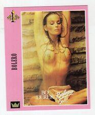 Figurina SUPERCINEMA EVENTS MAXI CARDS NUMERO 121 BOLERO