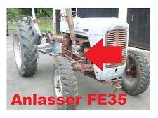 Anlasser FE 35 Getriebeanlasser Starter Ferguson FE35 Standard 23C + und - vert.