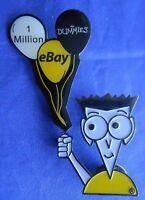 eBay For Dummies 1 Million Balloons Lapel Hat Pin
