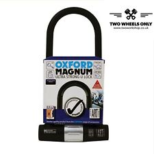 Scooter Motorcycle Bike Strong D-Lock U-Lock Oxford Magnum Security