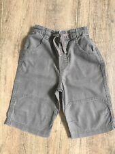 Boys Next Brown Linen Blend Elasticated Waist Shorts Age 2-3 Years