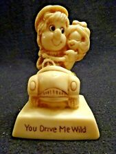Cute Vintage You Drive Me Wild Russ Berries #719 Figurine Statue Usa