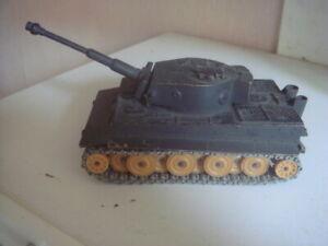 Solido Tigre N°222-12/1969 Char Militaire