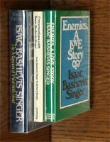 Isaac Bashevis Singer: Enemies & Conversations With; Kresh: Biography of IBS HC