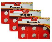18 x Panasonic CR2025 3V Lithium Coin Cell Battery 2025 Batteries