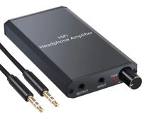 Headphone Amplifier Amp Portable Dac Audio Hifi 3 2 Stereo 5mm Tube Usb Recharge