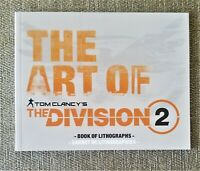 The Art of Tom Clancy's The Division 2 - Book of Lithographs - ARTBOOK ONLY