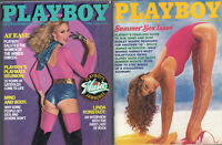 PLAYBOY Lot of 2  from 1980-Playmate Reunion,Bruce Jenner; Linda Ronstadt Intvws