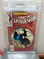 CBCS 9.4 Marvel Amazing Spiderman ASM #300. 1st Venom. Compare to CGC PGX