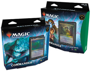 MTG Kaldheim COMMANDER Pre Con DISPLAY (6 decks) Sealed English - PREORDER