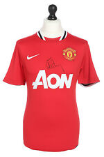 Tom Cleverley Signed Manchester United 11/12 Home Shirt Autograph Jersey + COA