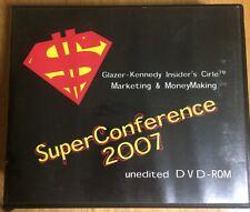 Dan Kennedy 2007 Superconference CDS
