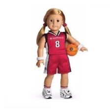 American Girl Doll Basketball Outfit Red Retired Set NEW!!