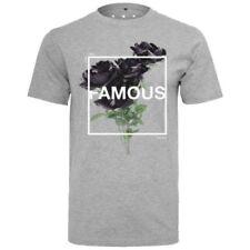 Hip-Hop Herren-T-Shirts im Basic-Stil