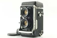 【EXC+5】 MAMIYA C220 Pro Professional TLR + 80mm f/3.7 Lens from JAPAN #59