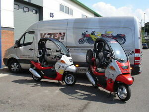 BMW C1 SCOOTER 125/200 - WE ARE SERVICE AND REPAIR SPECIALISTS FOR C1 SCOOTERS