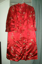 TUNIQUE LONGUE CHINOISE VINTAGE PEONY BRAND T 42