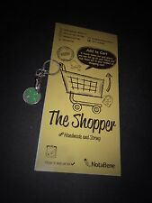 NOTABENE handmade paper products, shopping list Shopper notebook & trolley coin