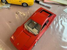 Sammlung! toller Burago Italy Ferrari Testarossa Sportwagen 1984 Modellauto 1/18