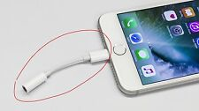 iPhone 7 Lightning to 3.5mm Headphone Earphone Jack Adapter Audio Cable Aux Adap