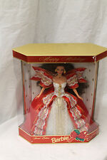 1997 HOLIDAY BARBIE BRUNETTE 10TH ANNIVERSARY 17832 NEW IN BOX
