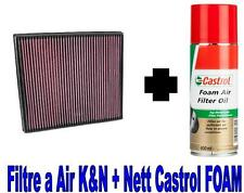 Filtre a Air Sport K&N KN 33-3026+Huile FORD TRANSIT CUSTOM Camionne 2.2TDCi 155