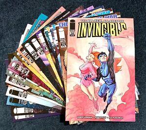 Lot of (20) INVINCIBLE IMAGE COMICS Robert Kirkman ISSUES Between 58 & 104
