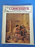 1929 THE CONNOISSEUR Magazine William Randolph Hearst Jamaican Tortoiseshell Art