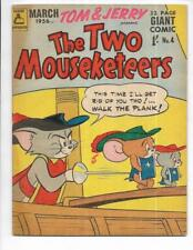 The Two Mouseketeers #4 1956 Australian Walking The Plank Cover!