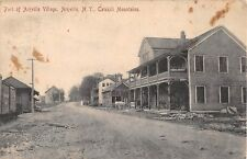 1910 RR Depot Hotels? Stores? Arkville NY post card Delaware county
