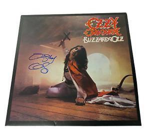 OZZY OSBOURNE SIGNED BLIZZARD OF OZ AUTOGRAPHED ALBUM VINYL LP BECKETT BAS COA