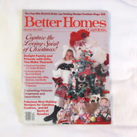 Better Homes & Gardens December 1984 Christmas Gifts Decorations Gourmet Foods