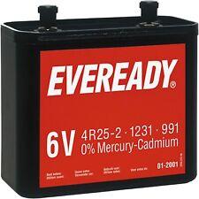 Ever Ready Eveready 991 4R25 6v Battery