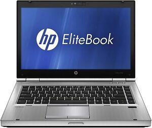 "HP Elitebook 8460p 14"" LED i5 2.50GHz 8GB 320GB Webcam DVD-RW Win10 Pro Laptop"