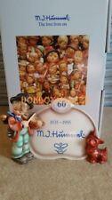 Goebel Hummel Display Plaque Puppy Love Fiddler 60th Anniv Figurine 042 Hum 767