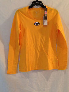 Green Bay Packers ladies long sleeved shirt-CHEESEHEAD gear 4 HER-Large