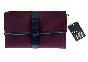 Lululemon Test of Time Travel Wallet Jacquard Plum Removable Pouch NEW WITH TAG