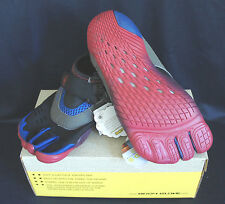 BODY GLOVE BOYS 3T BAREFOOT MAX Kid's WATER SHOES THREE-TOE Blue/Red Size 3