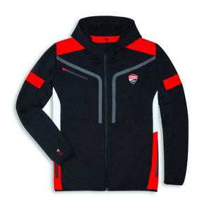 Ducati Corse Power Hoody Sweatshirt Full Zip Hood New Sweatshirt Jacket