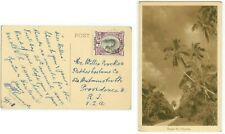 Nov 1948 Tonga post-Tin Can Mail pc from Quensell to Crocker