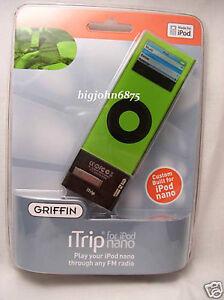 Griffin iTrip FM Transmitter for 2G iPod nano NEW INBOX