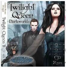 1 x Debbi Moore Diseños Twilight Queen darkworlds Cd Rom (293602)