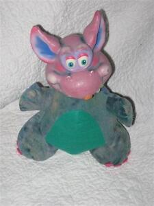 "Russ Berri Plush Happi Glumps Hugawug Dragon 11"" Vintage Stuffed Animal 1980s"